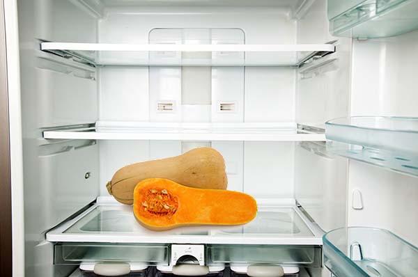 хранение тыквы в холодильнике