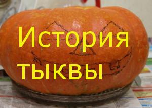 История тыквы